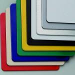 Planchas de Dibond. Posibilidad de colores