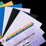 Polipropileno celular variedad de colores